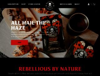 deathwishcoffee.com screenshot