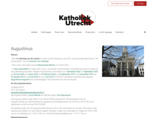 deaugustinus.com screenshot