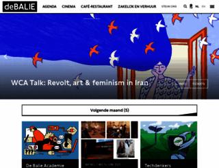 debalie.nl screenshot