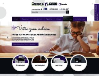debb.ca screenshot