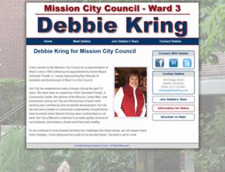debbiekring.com screenshot