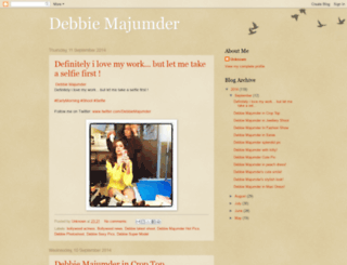 debbiemajumder.blogspot.in screenshot