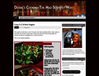 debbiescooking.wordpress.com screenshot