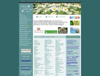 debbysgardenlinks.co.uk screenshot