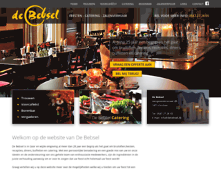 debebsel.nl screenshot