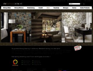 debehangsite.nl screenshot