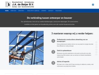 debeijeradvies.nl screenshot