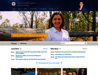 debfrecklington.com.au screenshot