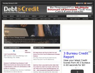 debitcreditblog.viamobileweb.com screenshot