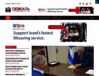 debka.com screenshot