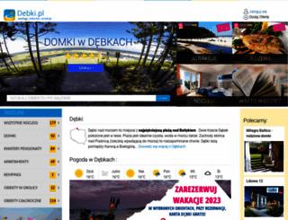 debki.pl screenshot