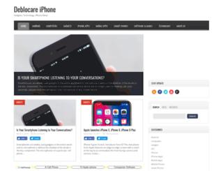 deblocareiphone.com screenshot