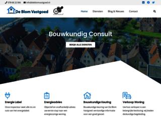 deblomvastgoed.nl screenshot