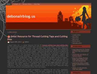 debonairblog.us screenshot