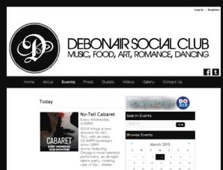 debonairsocialclub.do312.com screenshot