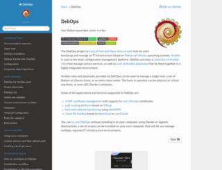 debops.org screenshot