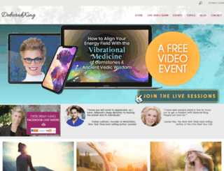 deborahkingcenter.com screenshot