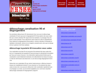 debouchage-canalisation-95.zenclic.net screenshot