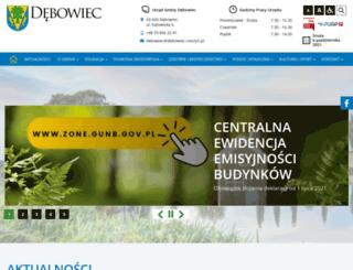 debowiec.cieszyn.pl screenshot