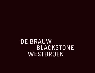 debrauw.com screenshot
