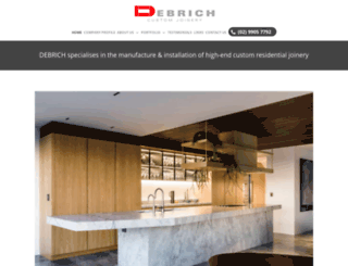 debrich.com.au screenshot