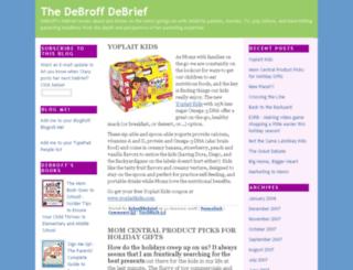 debroffdebrief.clubmom.com screenshot
