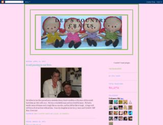 debscountrycrafts.blogspot.com screenshot