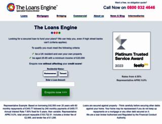 debtbusterloans.com screenshot