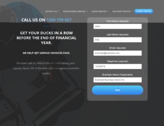 debtcollectionhelp.com.au screenshot