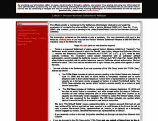 debtcollectionsettlement.com screenshot
