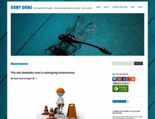 debtdebs.wordpress.com screenshot