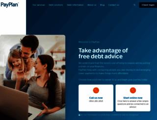 debthelpscotland.co.uk screenshot