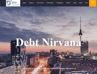 debtnirvana.com screenshot