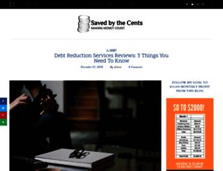debtreduction101.com screenshot