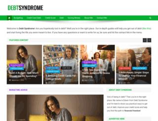debtsyndrome.com screenshot