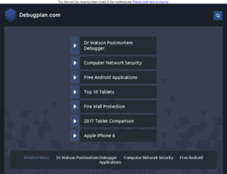 debugplan.com screenshot