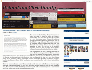 debunkingchristianity.blogspot.com screenshot