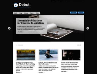 debutdemo.wordpress.com screenshot