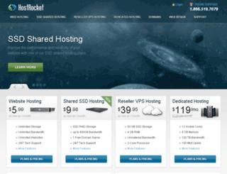 deca4.hostrocket.com screenshot