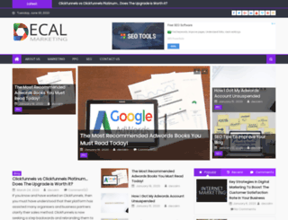 decalmarketing.com screenshot