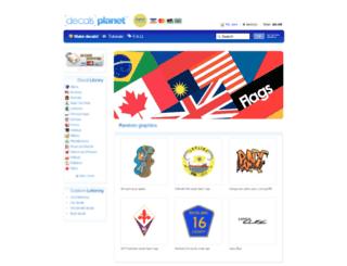 decalsplanet.com screenshot