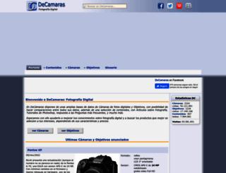 decamaras.com screenshot