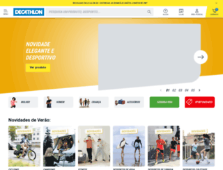 decathlon.pt screenshot