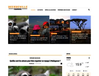 decazeville-tourisme.com screenshot