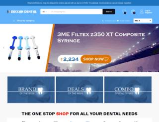 deccan-dental.com screenshot