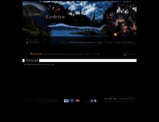decedeira.com screenshot