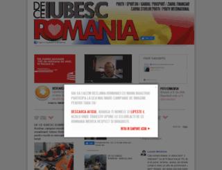 deceiubescromania.gandul.info screenshot