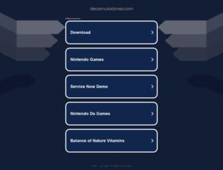 decemuladores.com screenshot