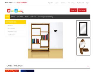 decentshopping.com screenshot
