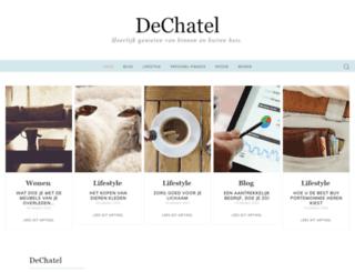 dechatel.nl screenshot